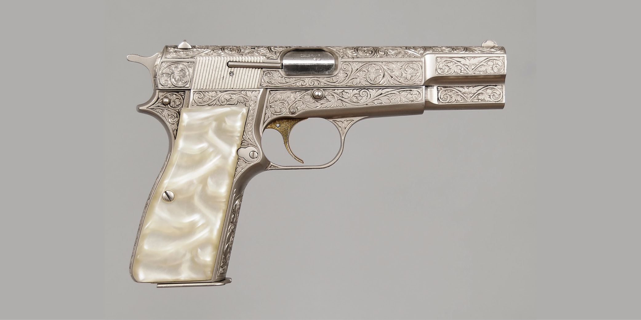 Browning Renaissance Engraved High Power Pistol  - Sold for $4,080