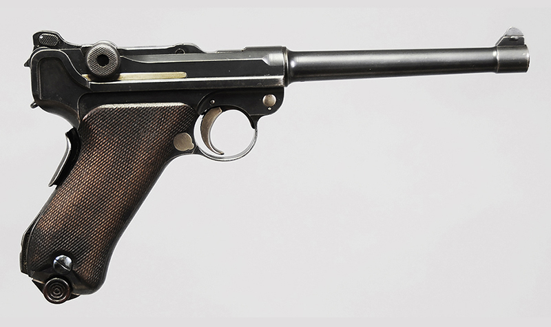 DWM 1906 2nd Issue Navy Luger - Sold for $5,060